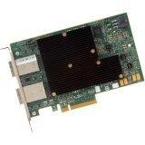 Lsi Logic H5-25520-00 LSI Logic Controller Card H5-25520-00 9300-16e Single 16Port 12Gb/s SAS/SATA PCI-Express HBA Brown Box