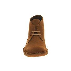 uomo Clarks 00111442 Boot Stivali Suede Desert Cola w6qI6Or