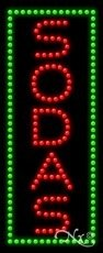 Sodas LED Sign (High Impact, Energy Efficient) (Sign Sodas Led)