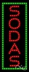 Sodas LED Sign (High Impact, Energy Efficient) (Led Sodas Sign)