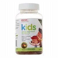 GNC Milestones Kids Gummy Multivitamin for Kids 2-12 Years Old 2 Pack (2 Bottles of 120 Gummies Each Bottle) (Gnc Multivitamin Kids)