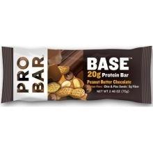 Probar Base Peanut Butter Chocolate Protein Bar, 2.46 Ounce -- 12 per case.