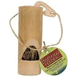 Ware Bird/Small An-Bamboo Hanging Feeder For Small Animals- Natural Medium