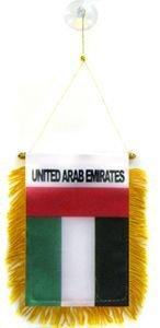 (United Arab Emirates Mini Flag 4