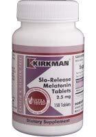 Kirkman Labs - Slo-Release Melatonin 2.5 mg 150 tabs