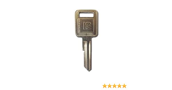 Later Style GM Square Head Keys Ignition Lock # 100