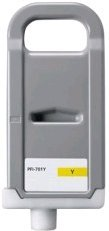 (Universal Brand: Replacement for Canon PFI-701Y cartridge - yellow)