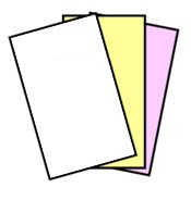 167 Sets NCR Paper, 3 Part, Legal Size Straight Collated Carbonless Paper (501 Sheets - 3 Part)