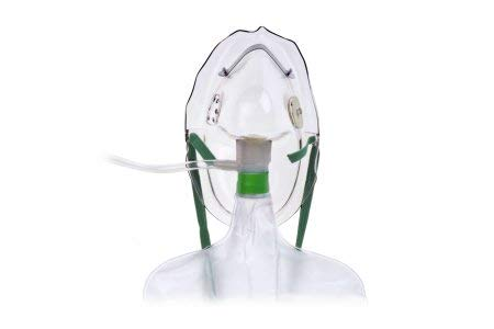 Hudson RCI 1059 Non-Rebreathing Masks with Safety Vent, Adult (Pack of 50) (Non Rebreathing Mask)