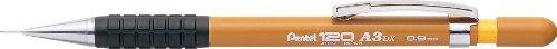 America Ltd Automatic Pencil - Pentel Of America Ltd Automatic Drafting Pencil, Refillable, 120 a3dx .9mm, Mustard