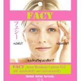 New Facy : Acne Breakout Control Gel New Herbal Active Formula Decrease Inflammation from AcneBeauty Product of -