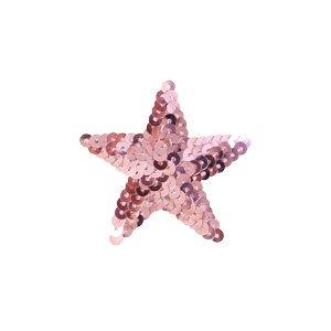 スパンコールモチーフ 星型<小>(M867) アイロン接着 31.ピンクの商品画像