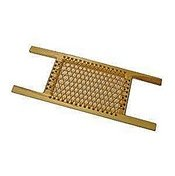 Bootlace Canoe Seat - Ash Stern