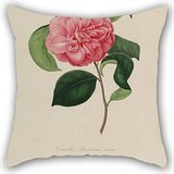 Flower Throw Pillow Covers 18 X 18 Inches / 45 By 45 Cm Best Choice For Outdoor,deck Chair,pub,office,seat,teens Boys With Each