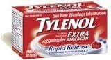 Tylenol Extra Strength Rapid Release Gelcaps 100ct