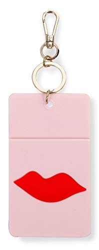 Llavero Porta credencial Kate Spade New York (rosa)