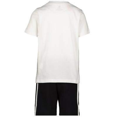 Kids Short shirt Adidas Back White Sleeve Originals Set T tzvvcxqTwf