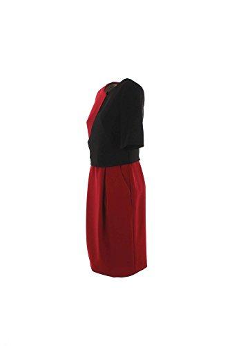 Abito Donna Hanita 2xl Rosso/nero H.v1731m.1494 Autunno Inverno 2016/17