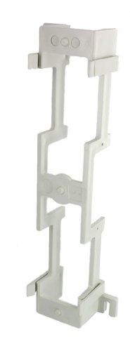 - Leviton 40089-B Standoff Bracket For M Blocks (89-B) 10-inch H by 3-13/32-inch W by 1-1/2-inch D