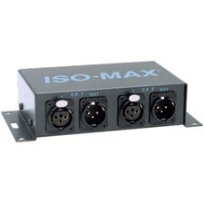 Jensen DM2-2XX Iso-Max Stereo Line Output Isolator 1 to 1 Ratio XLR IN/Out-by-Jensen