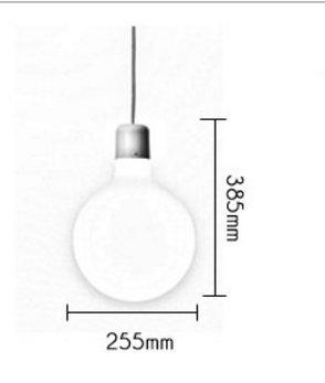 Lámparas modernas luces decorativas elegantes y con estilo Moderno y minimalista de cristal luces LED para