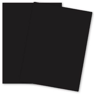 Popular Black Licorice - 8.5 x 11 Paper - 100lb COVER - 25 PK