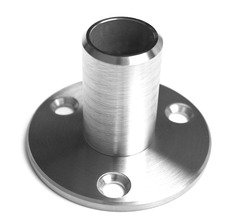 Inline Design Stainless Steel Base Flange For Round Tubing