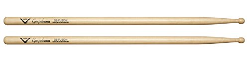 Vater VGSFW Gospel Fusion Hickory Wood Tip Drum Sticks, (Cora Musical Instrument)
