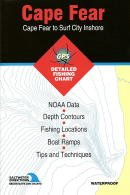 (Cape Fear to Surf City Inshore Fishing Map (North Carolina Coastal Charts, NC0102))