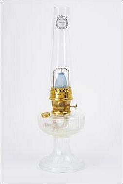 Aladdin Mantle Lamp Co. Lamp - C6192 Clear Lincoln Drape - Brass