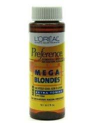 L'Oreal Preference # MB8 Mega Blonde-Light Cool Ash Blonde (Case of 6) by L'Oreal Paris by L'Oreal Paris