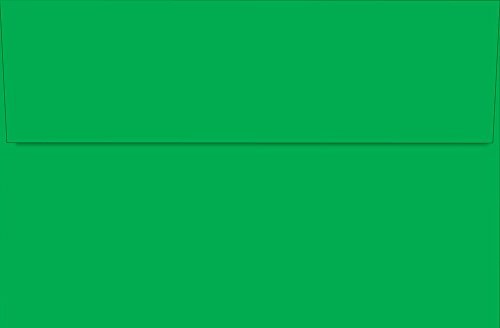 "Great Papers! 8.75"" x 5.575"" Imprintable stationery, Bright Green (2012303)"