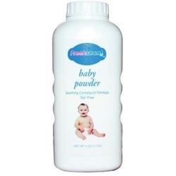 Freshscent - 4 oz Talc Free Baby Powder Cornstarch Formula (1 pack of 48 items) by Freshscent
