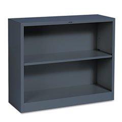Hon S30ABCS Metal Bookcase, Two-Shelf, 34-1/2w x 12-5/8d x 29h, -