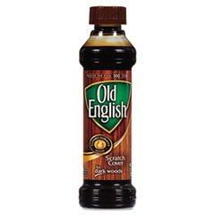 Old English Scratch Cover For Dark Woods, 8 fl oz Bottle, Wood (Liquid Furniture Polish)