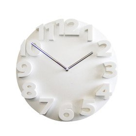 wall clocks modern 3D Number Mute Wall Clock digital wall clock