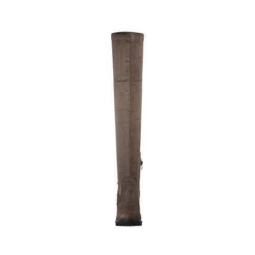 Classici Stivali Verde Elara Donna Militare X54dnwxq6