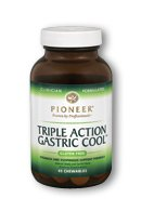 Pioneer Nutrition Triple Action Gastric Cool Cherry Vanilla, 45 Count For Sale