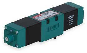 Numatics 081SS400K026K30 Mark 8 Double Solenoid Valve Unit 2 Pos/4 Way 120 VAC 1/8 Inch w/Plug-in/Lt/Flush Lkg OR/46T Opt ()