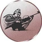 S.B.J Motiv Biathlon Sportland Pokal//Medaille Emblem Durchmesser 50 mm Durchmesser