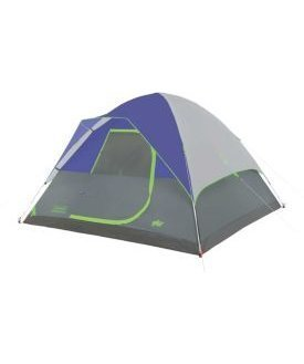 Coleman River Gorge Fast Pitch 6 Person Tent-Blue/Grey