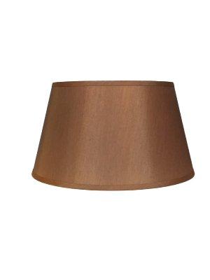 Upgradelights Copper Silk 19 Inch Barrel Drum Floor Lampshade Replacement