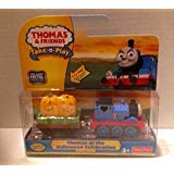 V8631 Thomas at the Halloween Celebration Take N Play Die Cast Metal Train