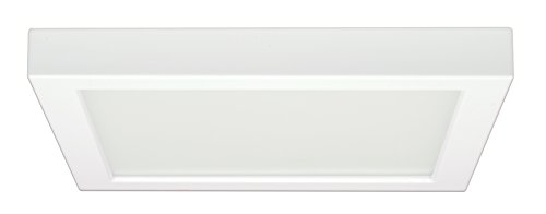 Satco Products S9340 Blink Flush Mount LED Fixture, 18.5W/9