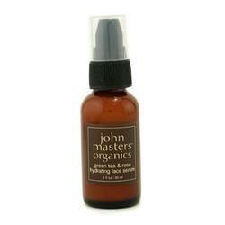 John Masters Organics Green Tea & Rose Hydrating Face Serum (For Normal/ Dry Skin) - 30ml/1oz