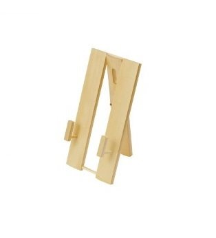 Fan Display Stand (Bamboo Japanese 2 Ways Folding Fan Stand Wall Hanger 3.5 x 7 inches From Japan)
