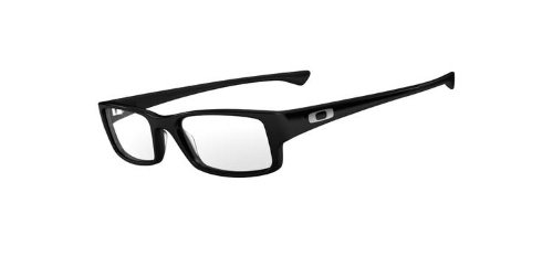 Oakley OX1066-01 Servo Eyeglasses-Polished Black-55mm by Oakley