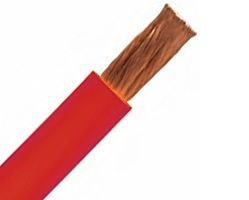 30ft 500MCM AWG Jumper Cable Stranded - 1235 STR - 90C - 5/15KV - Red 500mcm Cable
