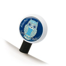 Electra Night Owl Bubble Valve Cap (Blue)
