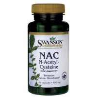 Swanson NAC (N-acetyl Cysteine) 600mg Bottles of 100 > Pack of 2 < Carrier to shipping international usps, ups, fedex, dhl, 14-28 Day By Dragon - Shipping 2 International Day